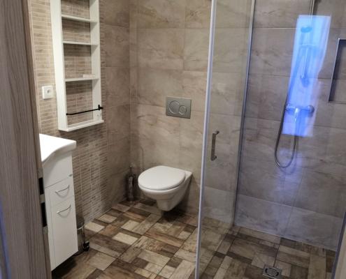 Ubytování Pavlov apartmány PALAVIA APARTMENTS ap1 koupelna