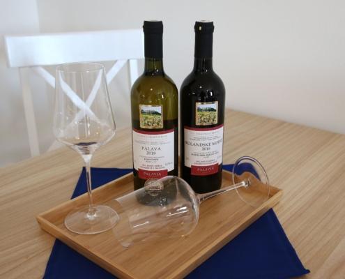 PALAVIA APARTMENTS & WINERY Pavlov - naše vína Vám budou chutnat
