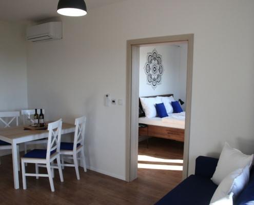 Obývací pokoj - apartmán 1
