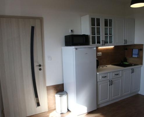 Ubytování Apartmány Pavlov PALAVIA ap1 kuchyňská linka